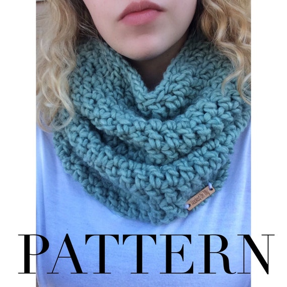 Beginners Crochet Cowl Pattern / Instant Download by ...