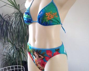 Miss Hawaiian Tropic 2p fun bikini