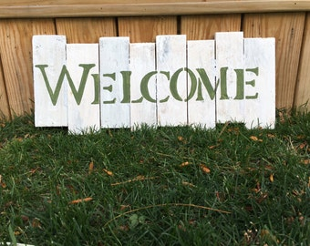 Awesome Welcome Sign!