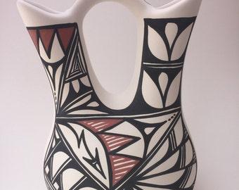 Handpainted Navajo Wedding Vase