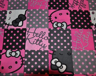 1/2 Yard of Hello Kitty 100% Cotton Quilt Fabric by Springs Creative