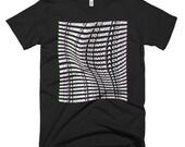 Men's Castlevania/Naked & Famous/Black Minimalist T-Shirt