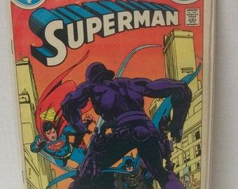 1983 DC Comics Superman Annual #9 Guest Batman and Lex Luthor Good Condition  Vintage Comic Book