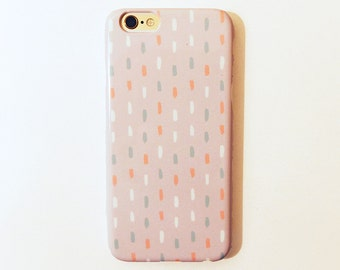 Candy Drips (light) - Phone case - Hand drawn pattern print