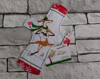 "10"" Medium Reindeer CSP (Cloth Sanitary Pad)"