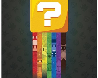 Super Mario Bros. 3 Question Block Poster