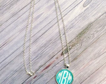Monogrammed Long Necklace