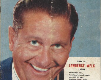 1957 REDUCED Dodge News Magazine featuring Lawrence Welk Vol 22 No 4