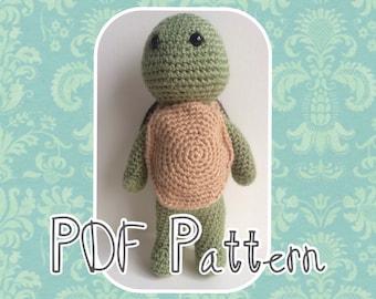 Timmy the Turtle Crochet Pattern