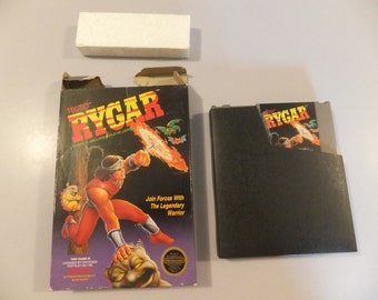 Rygar Original NES Nintendo Vintage Video Game With Box