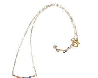 IRIS Flamingo necklace