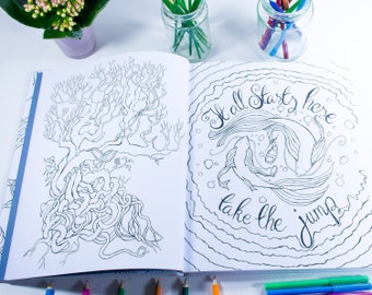 A Colourful Mind- A Coloring Book for Adults