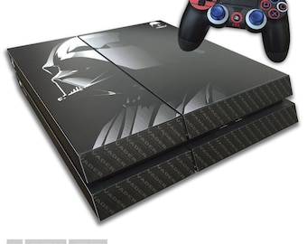 Playstation 4 PS4 - Darth VADER EDITION Skin Wrap Kit - Star Wars Decal Kit