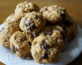 Cookies, Butterscotch Oatmeal Raisin Cookies