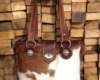 Genuine Leather Western Cowhide purse