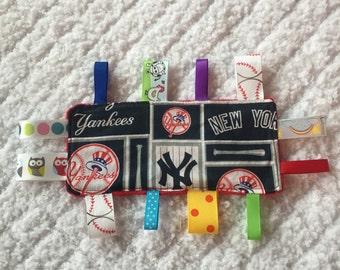 New York Yankees baby Sensory Toy