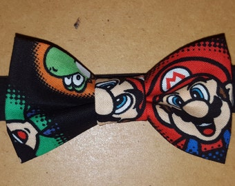 Mario Bowtie for Toddlers, Boys, and Men