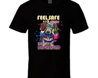 Dachshund t-shirt. Dachshund tshirt for him or her. Dachshund tee as a Dachshund gift idea. A great Dachshund gift with Dachshund t shirt