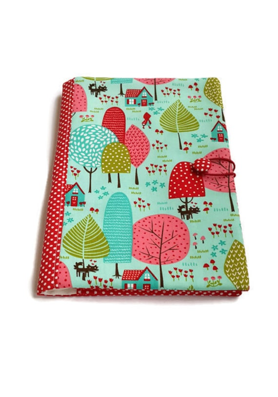 Fabric Book Cover Buy : Fabric book cover journal traveler