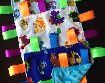 Baby Sensory Taggie Soother Blanket