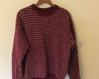 Awesome LL Bean Wool Sweater Vintage