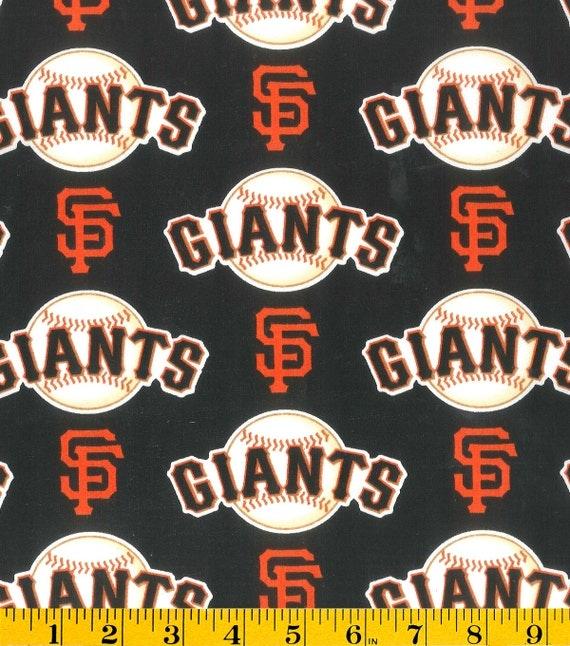 MLB San Francisco Giants Baby Toddler Blanket
