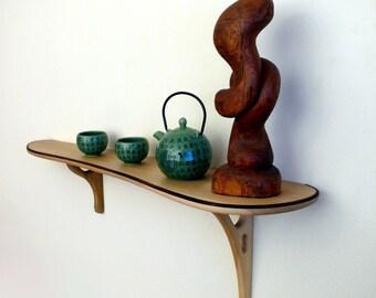 Elegant artistic shelf, bookshelf