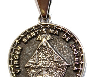 Virgen de Juquila  .925 Sterling Silver Pendant - Our Lady of Juquila Oaxaca Pendant
