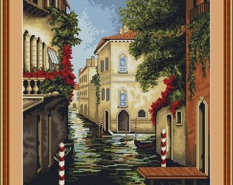 Cross Stitch Kit by Luca-S - Venice in Bloom