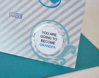 You are going to become grandpa - lottery ticket