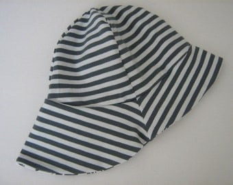 Baby summer Hat Sun Hat fisherman Hat Sun Cap with neck protection organic Jersey