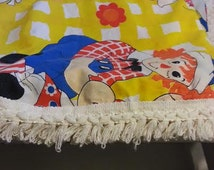 Vintage Raggady Ann and Andy Bedspread - Raggady Ann and Andy Bedding - Vintage Childs Bedding - Vintage Childs Room