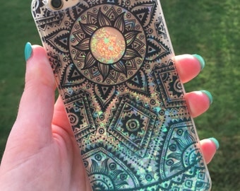Floating Glitter iPhone 6 Case