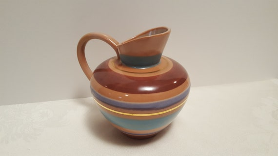 """Stangl Aztec Giftware 6.25"""" Pitcher #A-4059"""