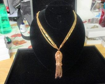 Vintage Monet pendant necklace