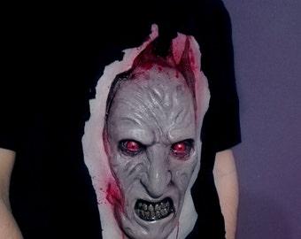 Nightmare Chest T- Shirt Freddy Krueger Horror Scary Halloween!!