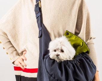 Dog sling carrier OLIVER