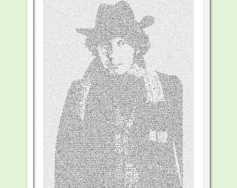 Dr. Who - The Fourth Doctor - Text Art Print - Free AU Shipping