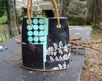 Blue Hand bag - Unique Artist Proof