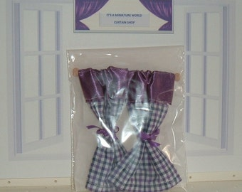 The Gingham Country Curtain Collection