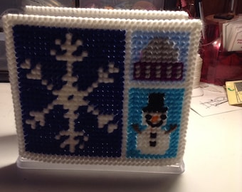 Winter Snowflakes Napkin Holder