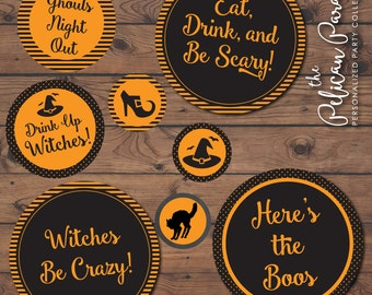 Halloween Party Printable Decor -- Instant Download