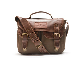 Hemlock Satchel Leather Bag