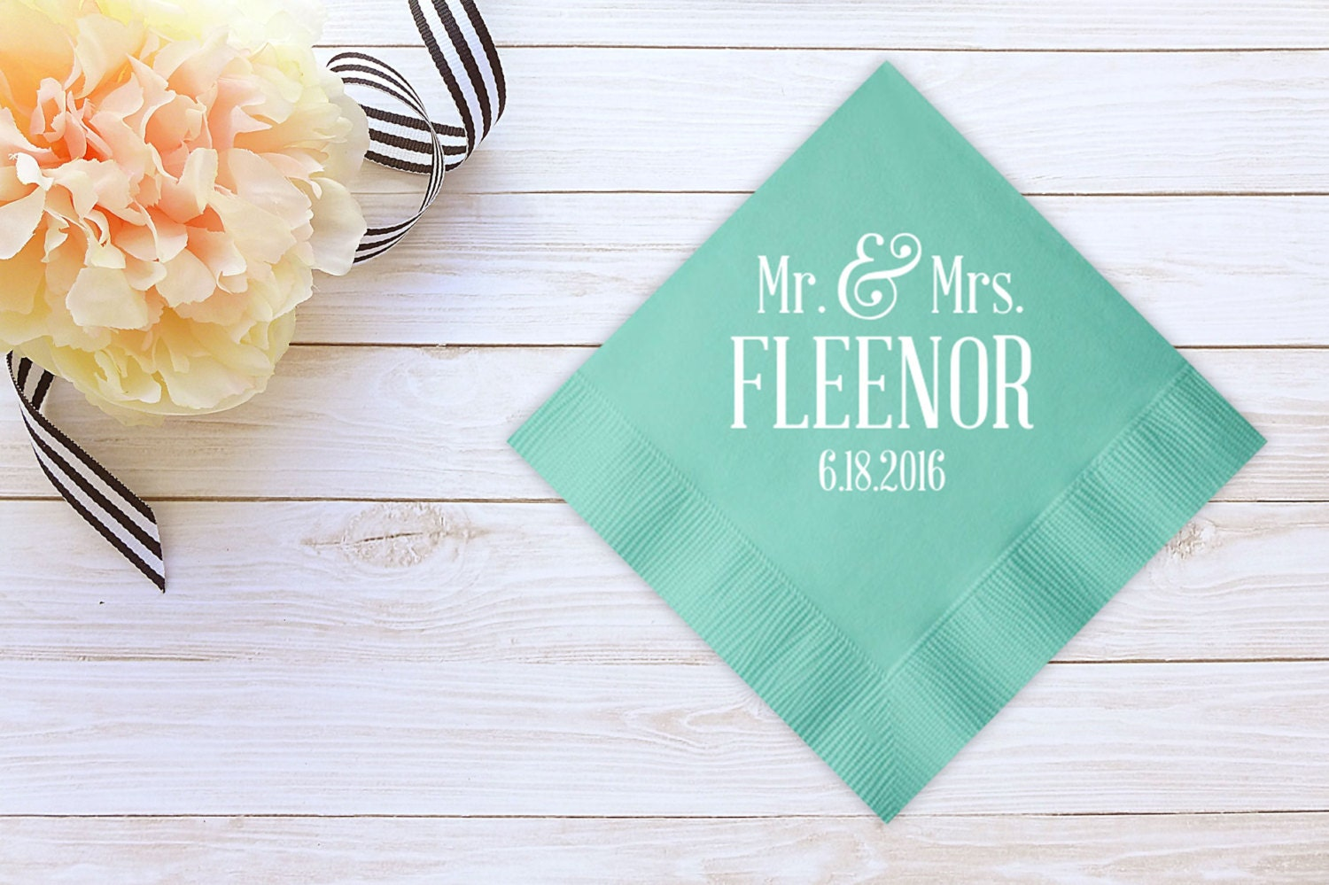 wedding napkins personalized napkins guest by detailsandpaper