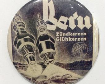 Refrigerator Magnet - Unikat - BERU spark plugs