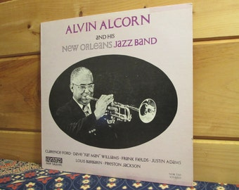 Alvin Alcorn And His New Orleans Jazz Band