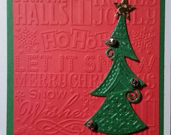 Dr Suess Christmas Tree Card