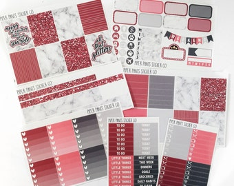 All That Glitters - Weekly Kit - Erin Condren Vertical
