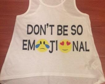 Youth & Juniors Don't Be So Emojional Tank