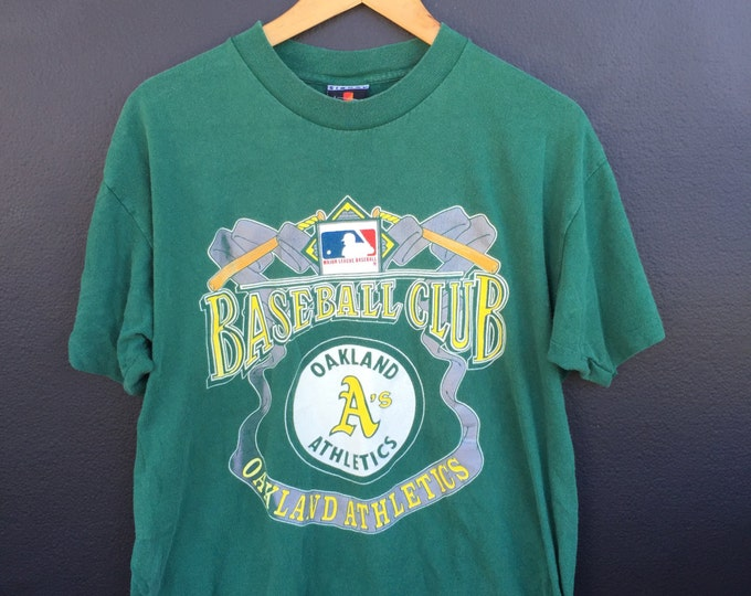Oakland Athletics MLB 1990s vintage Tshirt